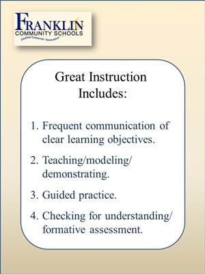 Curriculum Professional Development Instruction
