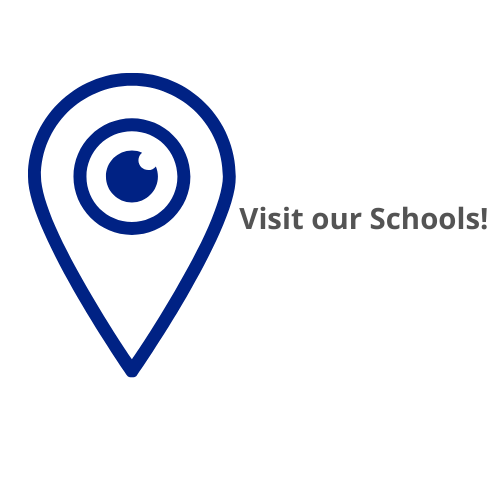 map marker that says visit our schools