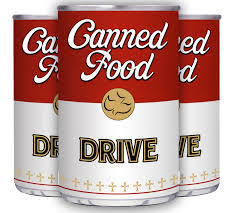 Good Cheer CANNED Food Drive - November 28, 2018 – December 18, 2018
