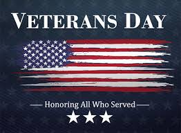 Thank you veterans for your service. Please click to watch our virtual Veterans Day presentations.