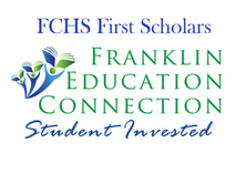 FCHS First Scholars over the FEC logo