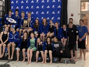 Girls Swim Wins Sectional title