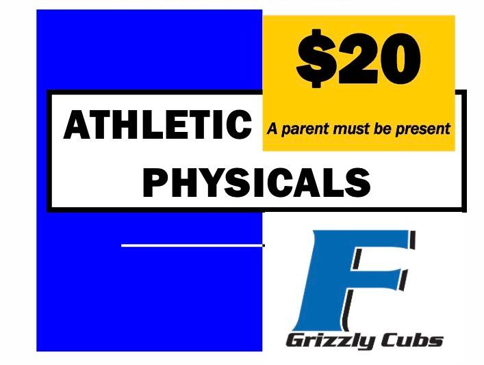 Athletic Physical Night Scheduled for April 19