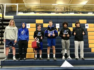 Semi-State Qualifying wrestlers