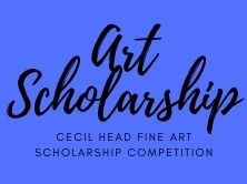 graphic that says Art Scholarship