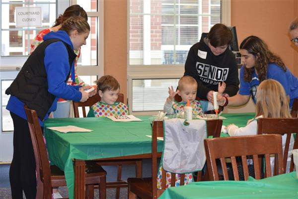 Advanced Child Development Classes host Cub Academy classes from Webb and Northwood