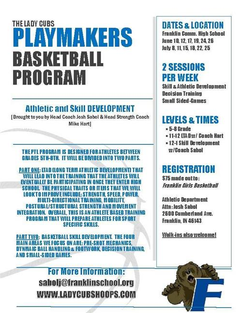 Information for Summer Basketball Camps