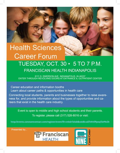 Franciscan Health's Health Sciences Career Forum