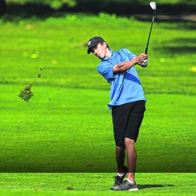 Franklin golfer watches shot fly through the air
